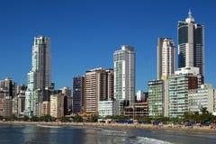 Balneario Camboriu - Бразилия Стоковое Изображение RF