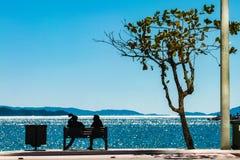 Balneario Camboriu, Санта-Катарина, Бразилия стоковая фотография rf