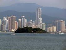 Balneario Camboriu - Brasilien royaltyfri foto