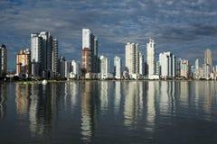 Balneario Camboriu - Brasilien royaltyfri bild