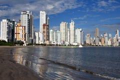 Balneario Camboriu - Brasilien Fotografering för Bildbyråer