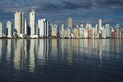 Balneario Camboriu - Brazil. City View of Balneario Camboriu - Brazil Royalty Free Stock Photos