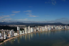 Balneario Camboriu - Brazil. City View of  Balneario Camboriu  in Brazil Stock Photography