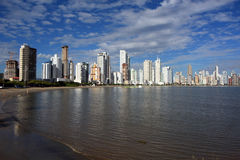 Balneario Camboriu - Brazil. City View of  Balneario Camboriu  in Brazil Royalty Free Stock Image