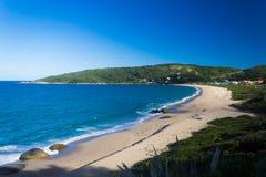 Balneario Camboriu - Brazil. Taquaras Beach in southern Brazil Royalty Free Stock Photos