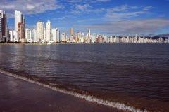 Balneario Camboriu - Brazilië stock foto's