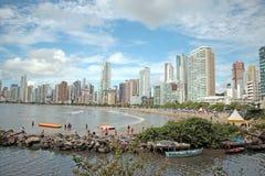 Balneario Camboriu - Brazilië Stock Afbeeldingen