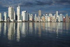 Balneario Camboriu - il Brasile Fotografie Stock Libere da Diritti