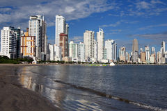 Balneario Camboriu - il Brasile Immagine Stock