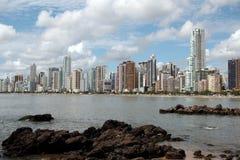 Balneario Camboriu - il Brasile Immagine Stock Libera da Diritti