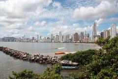 Balneario Camboriu - il Brasile Immagini Stock