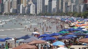 Balneario Camboriu - Santa Catarina - el Brasil almacen de metraje de vídeo