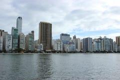 Balneario Camboriu - Santa Catarina - il Brasile Immagini Stock Libere da Diritti