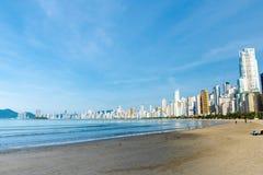 Balneario Camburiu, Бразилия Стоковое Изображение RF