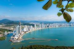 Balneario Camburiu, Бразилия Стоковые Изображения RF