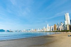 Balneario Camburiu, Brazil Royalty Free Stock Image