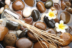 Balneario de Aromatherapy Foto de archivo libre de regalías