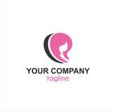 Balneario de la belleza y logotipo de la compañía de la tienda libre illustration