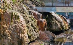 Balneario de las aguas termales en Sklene Teplice, Eslovaquia Imagenes de archivo