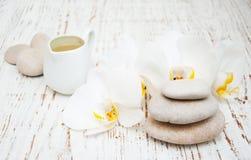Balneario de las orquídeas Foto de archivo libre de regalías