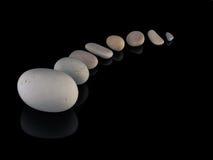 Balneario de las rocas de los ZENES Stone en mindfulness de la pila Fotografía de archivo libre de regalías
