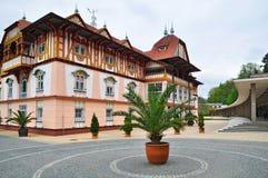 Balneario de Luhacovice checo imagen de archivo libre de regalías