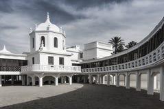 Balneario del Caleta - la Cádiz - la España Foto de archivo