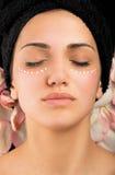 Balneario del tratamiento del ojo Imagen de archivo libre de regalías