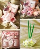 Balneario e items aromatherapy Imagen de archivo