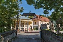 Balneario en Sklene Teplice, Eslovaquia Fotografía de archivo libre de regalías