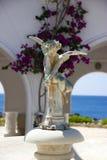 Balneario Rhodos Grecia de Kalithea Foto de archivo