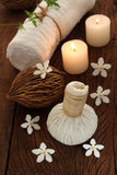 Balneario tailandés y masaje Fotografía de archivo libre de regalías