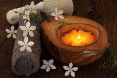 Balneario tailandés y masaje Imagenes de archivo