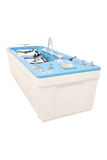 Balneotherapy bath Stock Photo