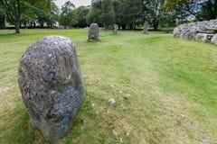 Balnuaran of Clava prehistoric cemetery Stock Photos