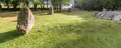 Balnuaran of Clava prehistoric cemetery Royalty Free Stock Photography