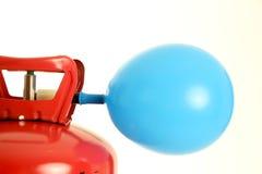Balão e hélio Fotografia de Stock Royalty Free