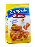 Balocco Zuppole, biscuits with crystals of sugar Stock Photography