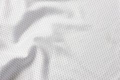 Balompié blanco Jersey Imagen de archivo