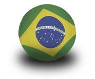 Balompié brasileño Fotos de archivo libres de regalías