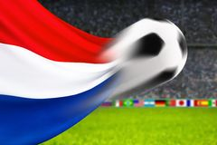 Balompié Holanda Fotos de archivo libres de regalías