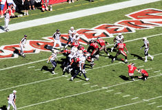 Balompié del NFL: Tampa Bay Buccaneers contra San Diego Fotografía de archivo libre de regalías