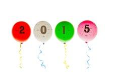 2015 balonów Zdjęcie Stock
