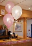balonów christening przyjęcie Zdjęcia Stock