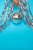balonów confetti kapeluszy przedmiotów przyjęcie Zdjęcie Royalty Free