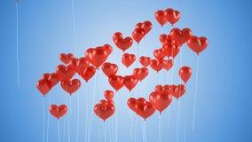 balonów eps8 latający kierowy miłości kształt ty Zdjęcia Royalty Free