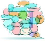 balonów kreskówki słowo ilustracja wektor