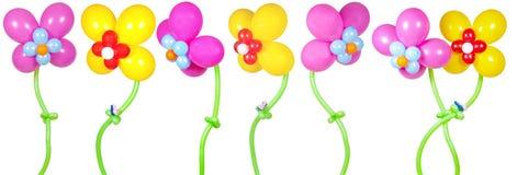 balonów kwiaty Zdjęcie Stock