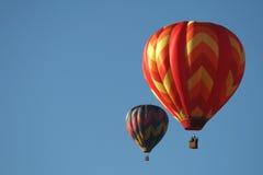 balonów lotniczych lot gorąco Obrazy Royalty Free