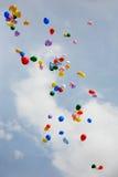 balonów target1875_1_ Zdjęcie Royalty Free